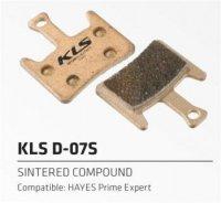 Колодки Kellys тормозные к диск. торм. композит.D-07S, совместим: HAYES Prime expert