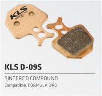Колодки Kellys тормозные к диск. торм. композит.D-09S, совместим: FORMULA ORO