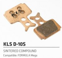 Колодки Kellys тормозные к диск. торм. композит.D-10S, совместим: FORMULA Mega