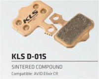 Колодки Kellys тормозные к диск. торм. органическиеD-01, совместим.: AVID Elixir CR