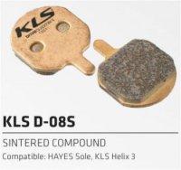 Колодки Kellys тормозные к диск. торм. органическиеD-08, совместим.: HAYES Sole,Helix 3