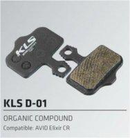Колодки Kellys тормозные к диск. торм. полуметаллическиеD-01S, совместим.: AVID Elixir CR