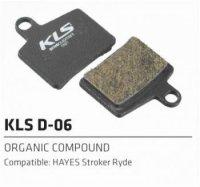 Колодки Kellys тормозные к диск. торм. полуметаллическиеD-06S, совместим.: HAYES Stroker ryde