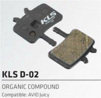 Колодки Kellys тормозные к диск. торм. с кевларовым волокномD-02, совместим: AVID Juicy
