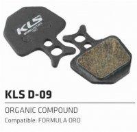 Колодки Kellys тормозные к диск. торм. с кевларовым волокномD-09, совместим: FORMULA ORO