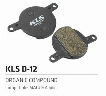 Колодки Kellys тормозные к диск. торм. с кевларовым волокномD-12, совместим: MAGURA Julie