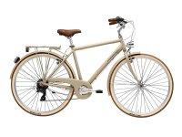 Велосипед  Adriatica City Retro Lady, бежевый, 6 скоростей, размер рамы: 450 (18)