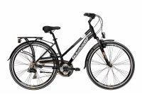 Велосипед  Adriatica Sity 2 Lady, черный, 21 скорость, размер рамы: 450мм (18)