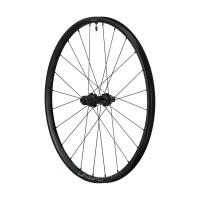 """Комплект колес  SHIMANO MT-600, передн. и задн., F:15/R12мм E-THRU, 27,5"""", для 11ск., C.Lock, OLD 100/142, цв. черный"""