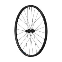 """Комплект колес  SHIMANO MT-600, передн. и задн., F:15/R12мм E-THRU, 29"""", для 11ск., C.Lock, OLD 100/142, цв. черный"""