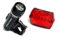 Комплект велосипедных фонарей FanShine (перед-зад)