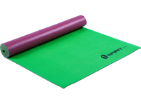 Коврик для йоги Spirit Fitness 5 мм бордово-зеленый