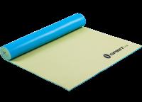 Коврик для йоги Spirit Fitness 5 мм желто-голубой