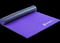 Коврик для йоги Spirit Fitness 6 мм серебристо-фиолетовый