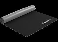 Коврик для йоги Spirit Fitness 6 мм серо-черный