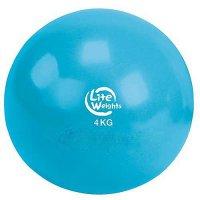 Медбол Lite weights 4кг 1704LW, голубой