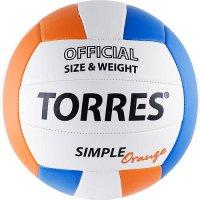 Мяч TORRES Simple Orange V30125