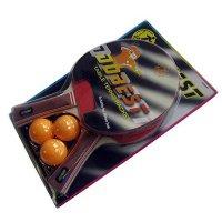 Набор DOBEST BR06 0 звезд (2 ракетки + 3 мяча)