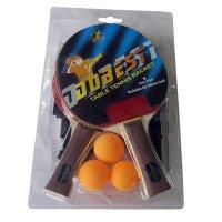 Набор DOBEST BR18 1 звезда (2 ракетки + 3 мяча + сетка + крепеж)