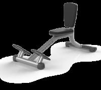 Скамья-стул (СЕРЕБРИСТЫЙ) Matrix MAGNUM A87