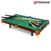 Бильярдный стол Fortuna Billiard Equipment 3ФТ с комплектом аксессуаров
