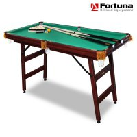 Бильярдный стол Fortuna Billiard Equipment русская пирамида 4фт с комплектом аксессуаров