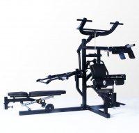 Мультисистема с силовой скамьей Powertec WB-MS14-B black