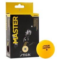 Мячи Stiga Winner 6 шт 40 мм (оранжевый)