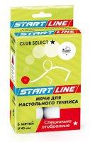 Мячи для настольного тенниса Start Line CLUB SELECT