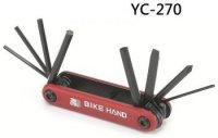 Набор инструментов BIKE HAND YC-270 складной