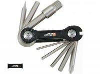 Набор инструментов SUPER B TB-9870 складной 10 в 1