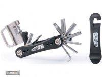 Набор инструментов SUPER B TB-FD20 складной 18 в 1,серебристый