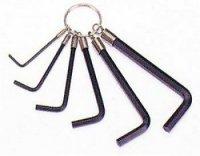 Набор шестигранников BIKE HAND YC-268L-1 на связке 2/3/4/5/6/7мм, чёрный, в торг.уп.