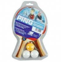 Набор Sunflex Ping 2 ракетки + 3 шарика