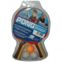 Набор Sunflex  Pong 2 ракетки + 3 шарика