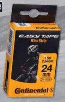 Ободная лента CONTINENTAL Easy Tape Rim Strip (до 116 PSI), чёрная, 22 - 559, 2шт.