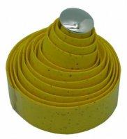 Оплётка на руль VELO VLT-004 200х3см жёлтая