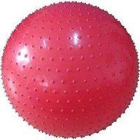 Мяч гимнастический массажный GB02 (65см, с насосом)