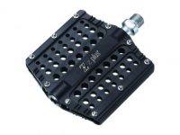 Педали Z PLUS Z-1106, DH/BMX/Fix-gear, алюминий, CNC-обработка, ось Cr-Mo