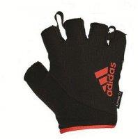 Перчатки для фитнеса Adidas красные, размер S
