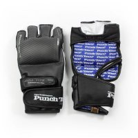 Punchtown Перчатки для миксфайта Karpal (кожа) S, M, L, XL, Carbon Karpal eX TAT2 MK11