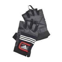 Перчатки тяжелоатлетические (кожа) Adidas ADGB-12124 S/M