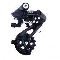 Переключатель задний  TBS HG-43A дискретный, короткая лапка (65мм), ёмкость 43T, крепление на петух, сталь/пластик, в торг.уп