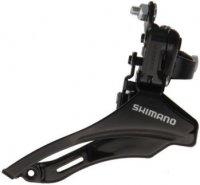 Переключатель SHIMANO передний FD-TZ30 TOURNEY, для 6/7 скоростей, нижн.тяга, 31.8, 42T