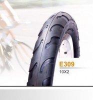 """Покрышка EXCEL E-309 10x2 """"слик"""""""