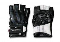 Профессиональные перчатки для миксфайта Punchtown (кожа) Karpal, S, L, XL, черный Karpal Pro