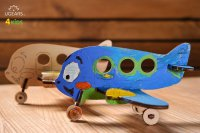 Сборная модель UGEARS 4kids - Аэроплан