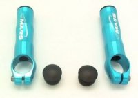 Рога MARS ONE SD-218M, алюминий 6061, D:22,2мм, длина 82мм, вес 58г, голубые