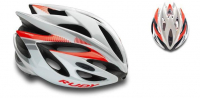 Шлем Rudy Project RUSH WHITE-RED FLUO SHINY L