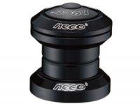 """Рулевая NECO H711 нерезьбовая, 1-1/8""""х34х30мм, высота 29±1мм, алюминий/сталь, картриджные подшипники D:41.8x45*х 45*, назначение: МТВ, АТВ, Trekking, вес 108,7г"""